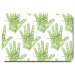 Palmistry Large Doormat from Manda s Macabre 30 x20  Door Mat