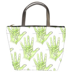 Palmistry Bucket Bag from Manda s Macabre Front