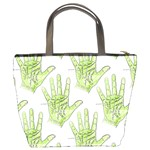 Palmistry Bucket Bag from Manda s Macabre Back