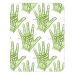 Palmistry Double Sided Flano Blanket (Large) from Manda s Macabre  Blanket Back