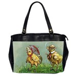Easter Kitsch Oversize Office Handbag (2 Sides) from Manda s Macabre Front