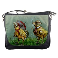 Easter Kitsch Messenger Bag from Manda s Macabre Front