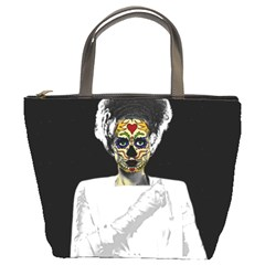 The Bride of Day Of Dead Bucket Bag from Manda s Macabre Front
