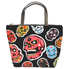 Day Of The Dead Bucket Bag from Manda s Macabre Front