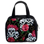 Skulls & Roses Classic Handbag (Two Sides) from Manda s Macabre Front