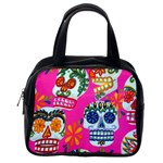 Calaveras Skull Classic Handbag (Two Sides) from Manda s Macabre Back