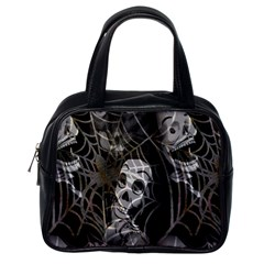 Day of The Dead Classic Handbag (Two Sides) from Manda s Macabre Back