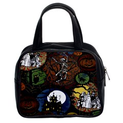 Halloween Classic Handbag (Two Sides) from Manda s Macabre Front
