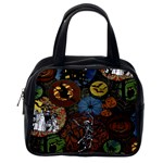 Halloween Classic Handbag (Two Sides) from Manda s Macabre Back