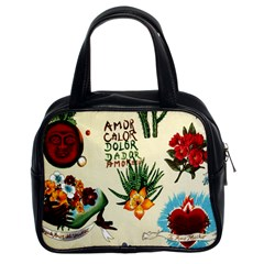 Viva Frida Classic Handbag (Two Sides) from Manda s Macabre Front