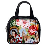 Spanish Flowers Pin Ups Classic Handbag (Two Sides) from Manda s Macabre Back