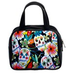 Day of The Dead Classic Handbag (Two Sides) from Manda s Macabre Front