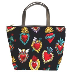 Sacred Heart Bucket Bag from Manda s Macabre Front