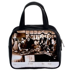 Yale Medical Anatomy Class Drferris Classic Handbag (Two Sides) from Manda s Macabre Front