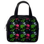Skulls Classic Handbag (Two Sides) from Manda s Macabre Back