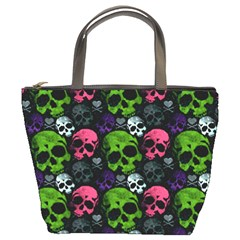 Skulls Bucket Bag from Manda s Macabre Front