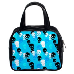Skulls Classic Handbag (Two Sides) from Manda s Macabre Front