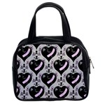 Skulls & Hearts Classic Handbag (Two Sides) from Manda s Macabre Front
