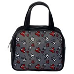 Skulls & Hearts Classic Handbag (Two Sides) from Manda s Macabre Back