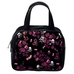 Skulls & Cherries Classic Handbag (Two Sides) from Manda s Macabre Back