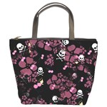 Skulls & Cherries Bucket Bag from Manda s Macabre Front