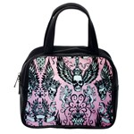 Skulls Tattoo Style Classic Handbag (Two Sides) from Manda s Macabre Back