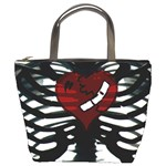 Rib Cage Heart Bucket Bag from Manda s Macabre Front