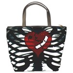 Rib Cage Heart Bucket Bag from Manda s Macabre Back