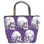 5 Skulls Bucket Bag from Manda s Macabre Back