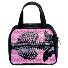 Bones Classic Handbag (Two Sides) from Manda s Macabre Front