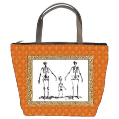 Skeleton Family Bucket Bag from Manda s Macabre Front