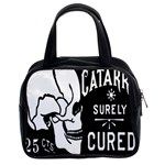 Skull Label Classic Handbag (Two Sides) from Manda s Macabre Front