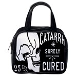 Skull Label Classic Handbag (Two Sides) from Manda s Macabre Back
