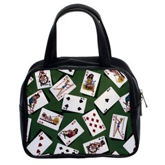 Pin Up Cards Classic Handbag (Two Sides) from Manda s Macabre Front