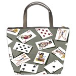 Pin Up Cards Bucket Bag from Manda s Macabre Back