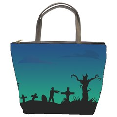 Trick or Treat Bucket Bag from Manda s Macabre Front