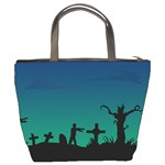 Trick or Treat Bucket Bag from Manda s Macabre Back