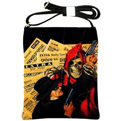 Pulp Horror Shoulder Sling Bag from Manda s Macabre Front
