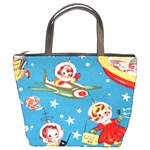 Vintage Kids In Space Bucket Bag from Manda s Macabre Front