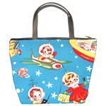 Vintage Kids In Space Bucket Bag from Manda s Macabre Back