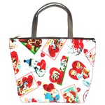 Valentine Bucket Bag from Manda s Macabre Front