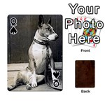 Queen Bully Cards Playing Cards 54 Designs from Manda s Macabre Front - SpadeQ