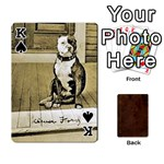 King Bully Cards Playing Cards 54 Designs from Manda s Macabre Front - SpadeK