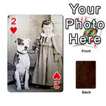 Bully Cards Playing Cards 54 Designs from Manda s Macabre Front - Heart2