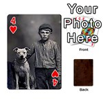 Bully Cards Playing Cards 54 Designs from Manda s Macabre Front - Heart4