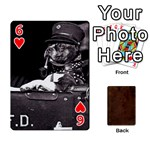 Bully Cards Playing Cards 54 Designs from Manda s Macabre Front - Heart6