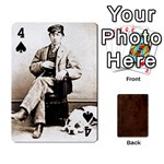 Bully Cards Playing Cards 54 Designs from Manda s Macabre Front - Spade4