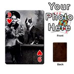 Bully Cards Playing Cards 54 Designs from Manda s Macabre Front - Heart9