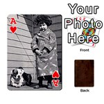 Ace Bully Cards Playing Cards 54 Designs from Manda s Macabre Front - HeartA