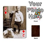 Bully Cards Playing Cards 54 Designs from Manda s Macabre Front - Diamond2